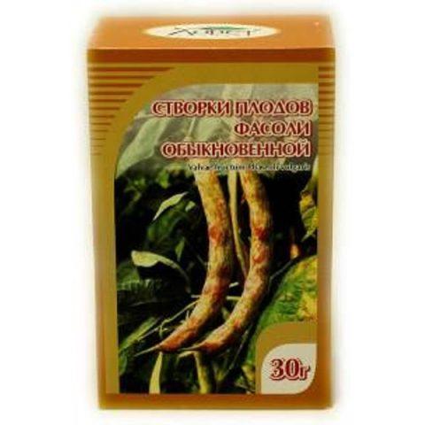 Створки плодов фасоли обыкновенной 00г БАД для пище