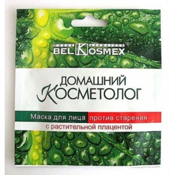 Маска для лица против старения с растит. плацентой 26 гр.