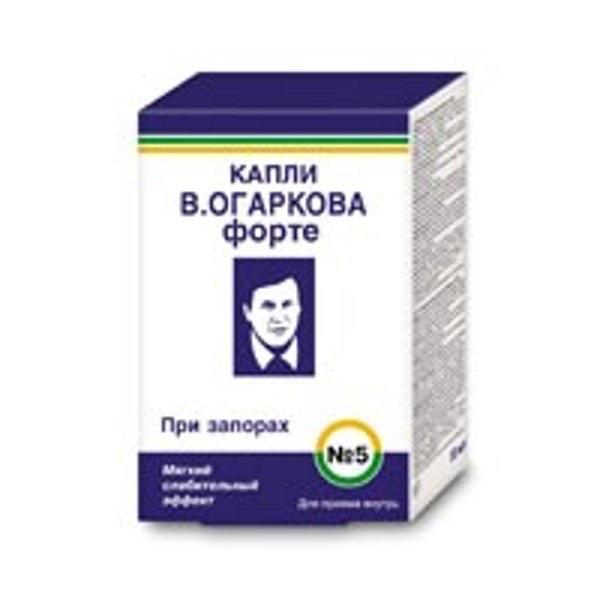 Капли Огаркова Форте №5 50 мл