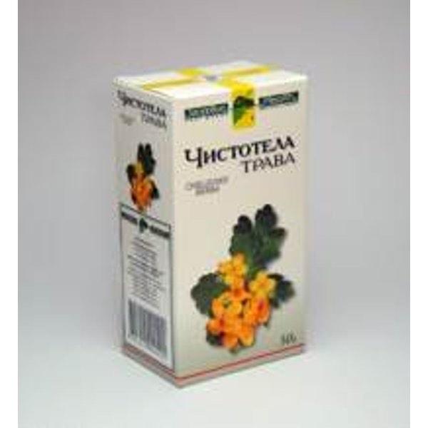 Чистотел трава 50г  Фирма «Здоровье»