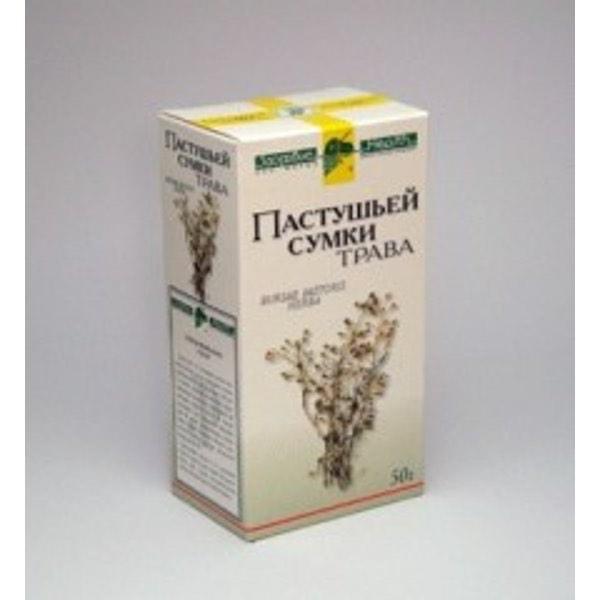 Пастушья сумка трава 50г Фирма «Здоровье»