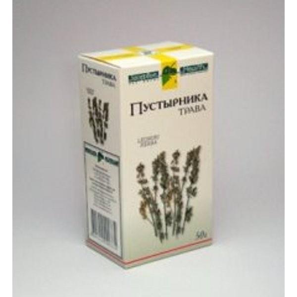 Пустырник трава 50г Фирма «Здоровье»