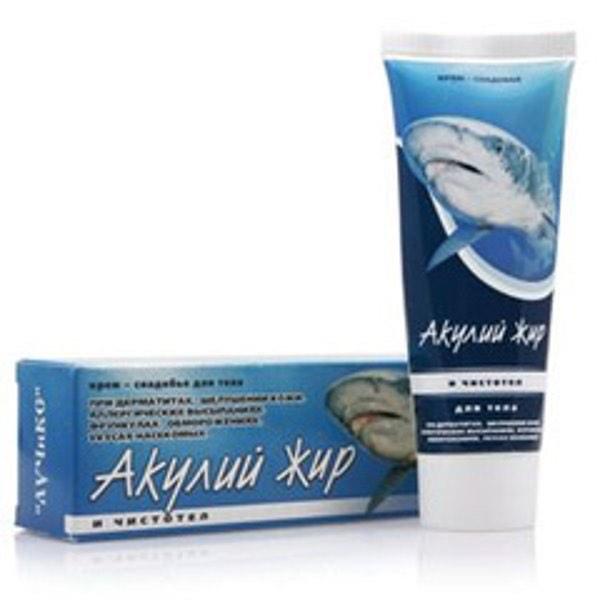 Акулий жир и Чистотел Крем-снадобье для тела 75мл