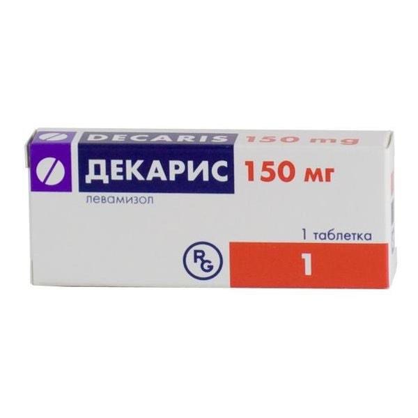 Декарис таб №1 150 мг