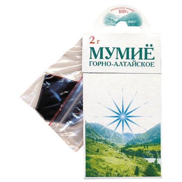 Мумие (Горно-Алтайское) 2 гр