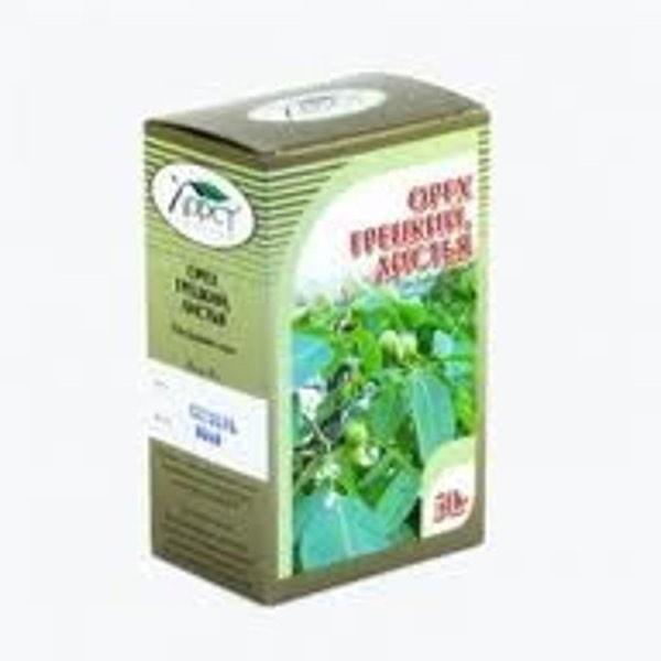 Орех грецкий листья 50гр БАД к пище