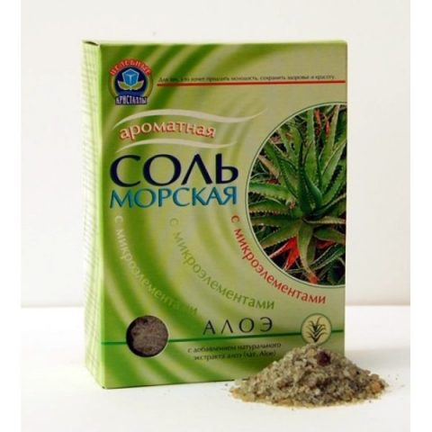 Соль Морская (Алоэ) 500 гр