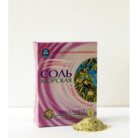 Соль Морская (Эвкалипт) 500 гр