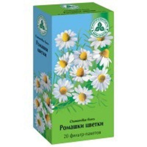 Ромашки цветки (фильтр-пак. 1,5 г / №20 ) Фирма «Здоровье»