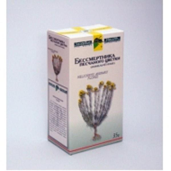 Бессмертника песчаного цветки  35г Фирма «Здоровье»