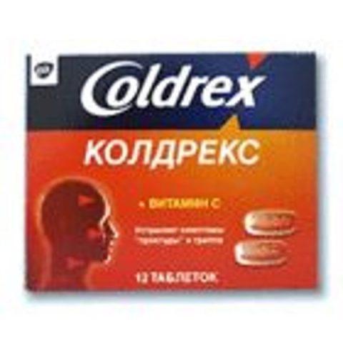 Колдрекс таб. №12 в компактной упаковке