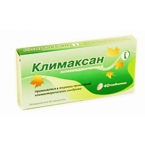 Климаксан 40 таб