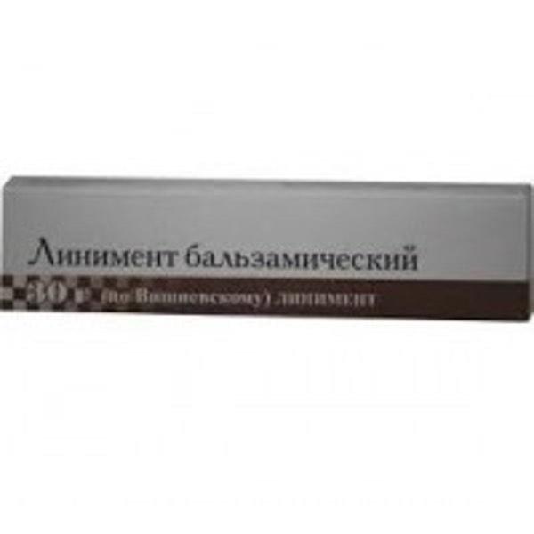 Линимент бальзам. по Вишневскому 30г туба