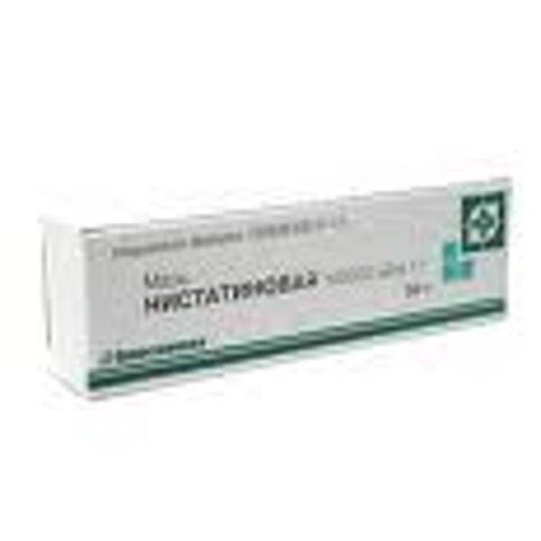 Нистатиновая мазь 15 гр