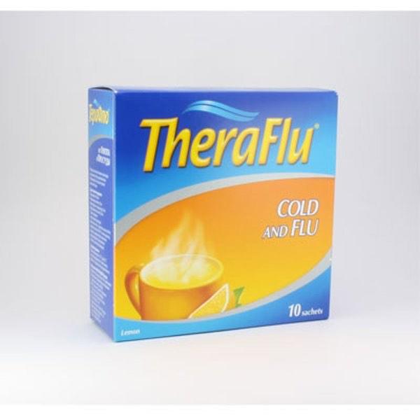 Терафлю от гриппа и простуды с лимоном 0,22 №10 NEW