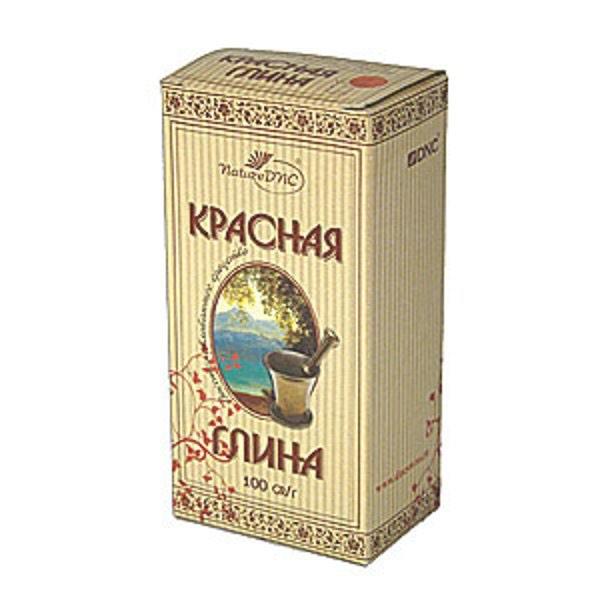Глина Косметическая Красная 100 гр