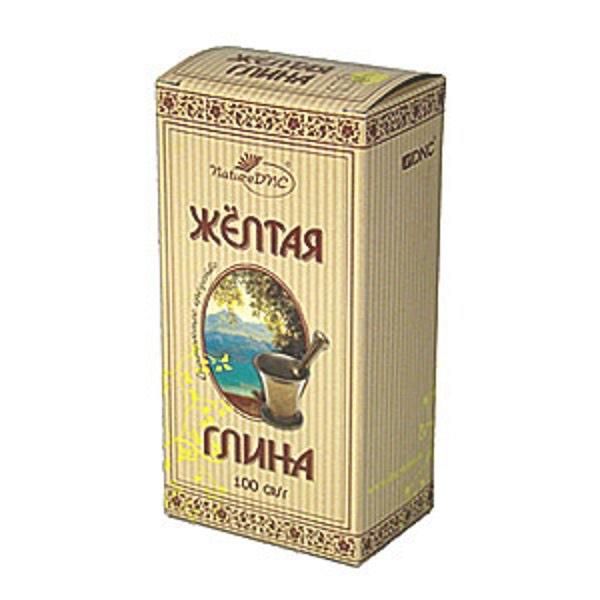 Глина Косметическая Желтая 100 гр