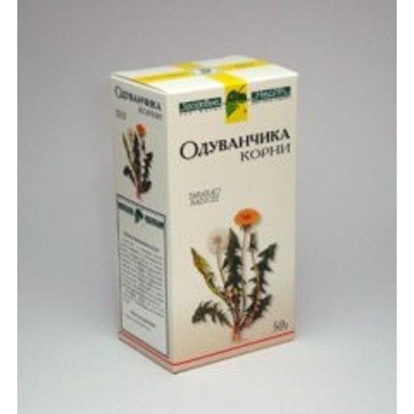 Одуванчик  корень, 50 гр Фирма «Здоровье»