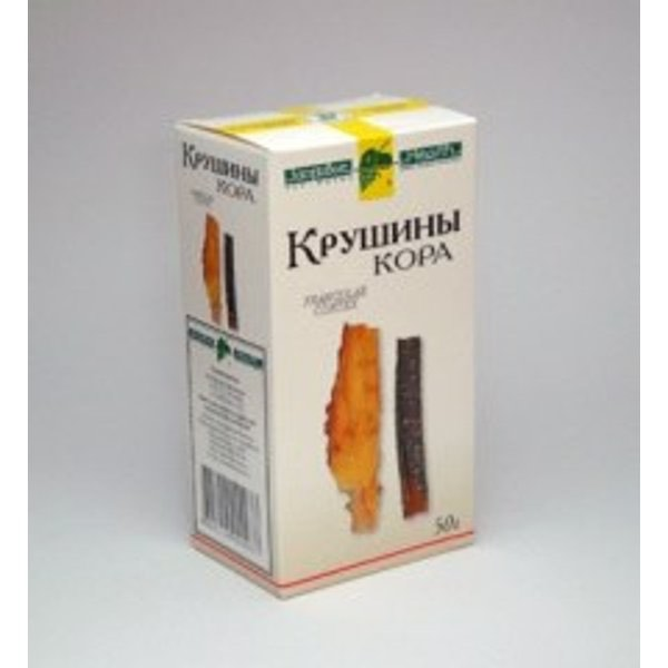 Крушина кора  50г  Фирма «Здоровье»