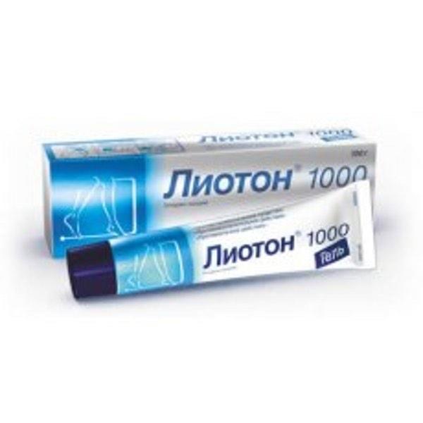 Лиотон 1000 гель 30г