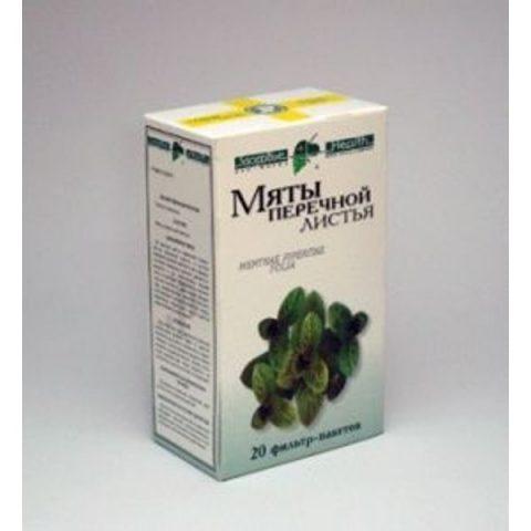 Мята перечная листья 50г  Фирма «Здоровье»