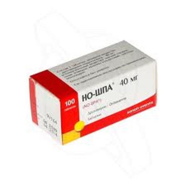 Но-Шпа 40 мг №100 (Венгрия)